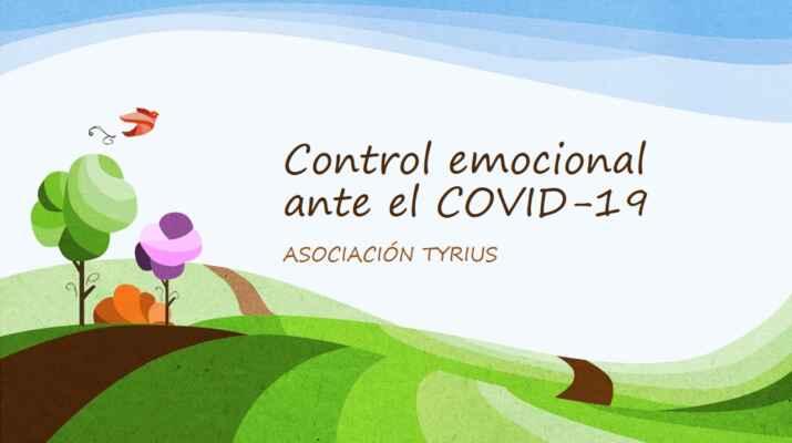 Pautas para el control emocional durante el COVID-19